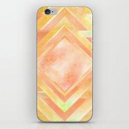 Mosaic Tile // Yellow Starburst iPhone Skin