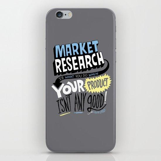 Market Research iPhone & iPod Skin