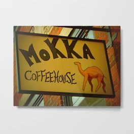 Camel In The House Metal Print
