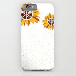 Arvada Lewiston City Vintage Faith Hope Love Peace Sign SunFlower iPhone Case