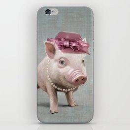 Miss Piggy iPhone Skin
