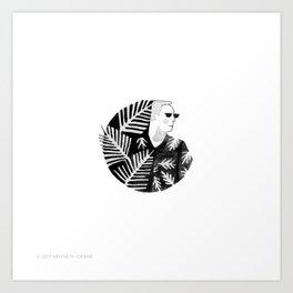 2017 Inktober #18 Art Print