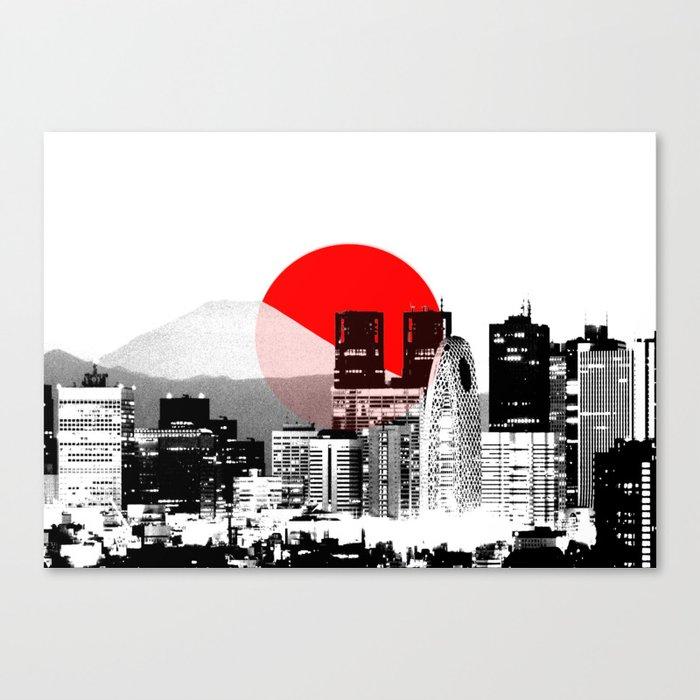 Modern Japan - Tokyo - Shinjuku Leinwanddruck