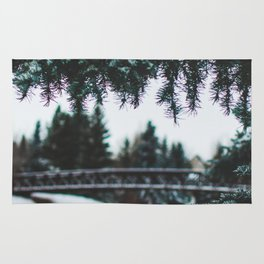 Winter Between The Branches (Color) Rug