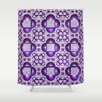 boho Shower Curtains featuring Boho by Lyle Hatch