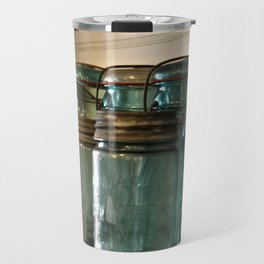 Pioneer Pathways: Canning Jars Travel Mug