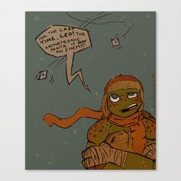 Jolly St. Ninja Canvas Print