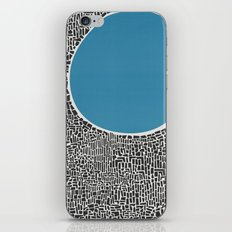 Abstract Blue Lake iPhone & iPod Skin