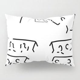 teacher trains training Pillow Sham