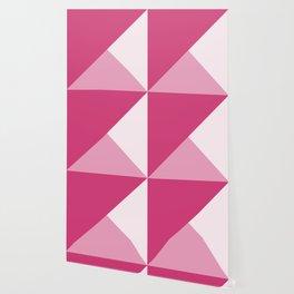 Trinity Color Block Magenta D23C77 Wallpaper