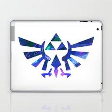 The Legend of Zelda Triforce Blue Laptop & iPad Skin