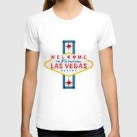 las vegas T-shirts featuring Las Vegas by Fimbis