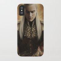 legolas iPhone & iPod Cases featuring Legolas Desolation of Smaug by Alba Palacio