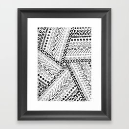 Coalition Tradition Framed Art Print