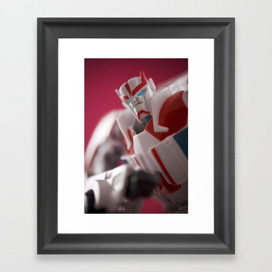 Your Friendly Medic Framed Art Print