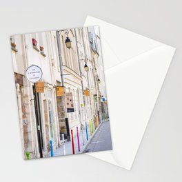 Paris Street Style No. 3 Stationery Cards