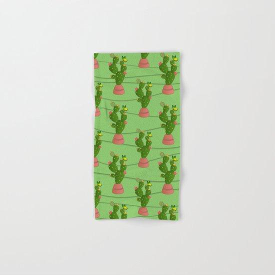 cactus  summer  Hand & Bath Towel