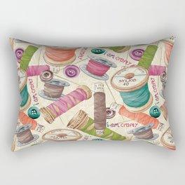 I Am Crafty Rectangular Pillow