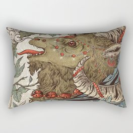 Krampus Rectangular Pillow