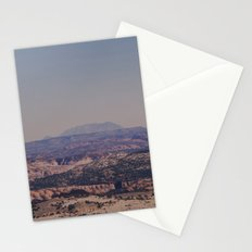 next up sun down Stationery Cards