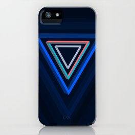 Impossible triangles series. iPhone Case
