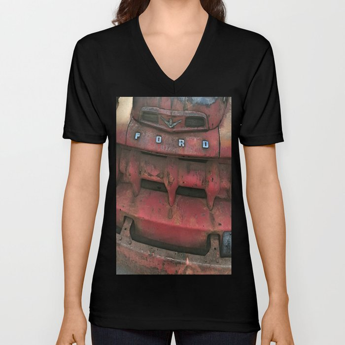 Vintage Ford Truck Unisex V-Neck by cuteandcooldesign