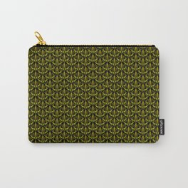 Khaki Scales Carry-All Pouch