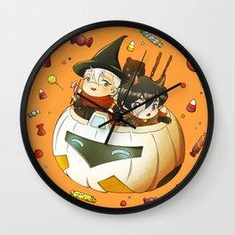 Halloween Sweets Wall Clock
