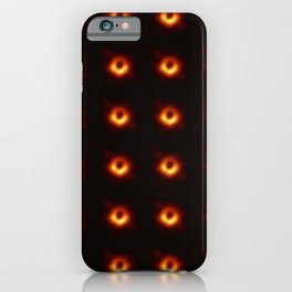 black hole: the first picture 2 iPhone Case