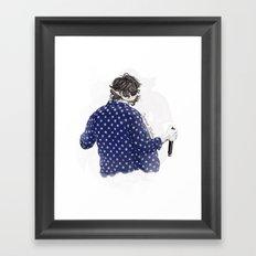 Dance, dance Harold Framed Art Print