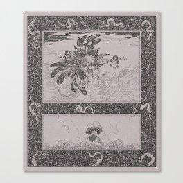 Jingwei Conquering the Sea Canvas Print