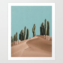 Is There Life on Earth I Art Print