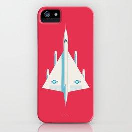 B-58 Hustler Supersonic Supersonic Jet - Crimson iPhone Case