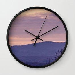 North Georgia Mountains 7 Wall Clock