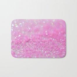 Sparkling Baby Girl Pink Glitter Effect Bath Mat