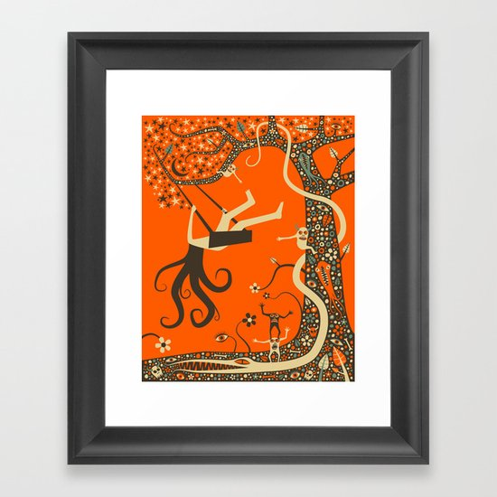 OUTCAST Framed Art Print