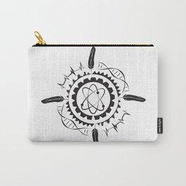 Native Stem Mandala Carry-All Pouch
