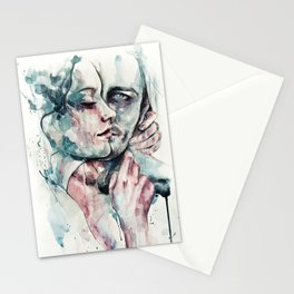 forever yours freckles Stationery Cards