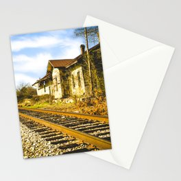 Railroad Mayfield Stationery Cards