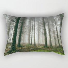 Follow me into the woods Rectangular Pillow