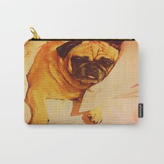 PUG LOVE: Will you bring me breakfast in bed? Carry-All Pouch