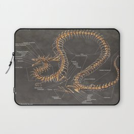 Asian Lung Skeleton Anatomy Laptop Sleeve
