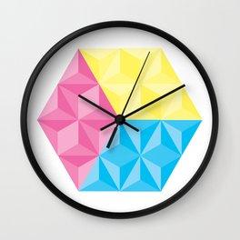 CYM Cube Wall Clock