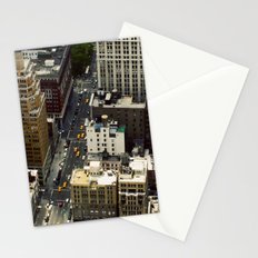 The Streets Below Stationery Cards