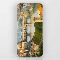florence iPhone & iPod Skins featuring Florence by Shannon McCullough-Wight