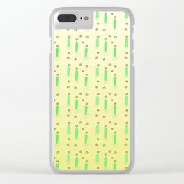 Flower of cactus 4 Clear iPhone Case