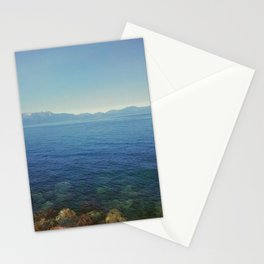 Front lake view Stationery Cards