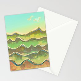 Magic Flight over the Sea of Clouds Stationery Cards
