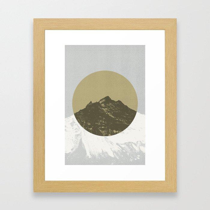 Lost Mountain Framed Art Print