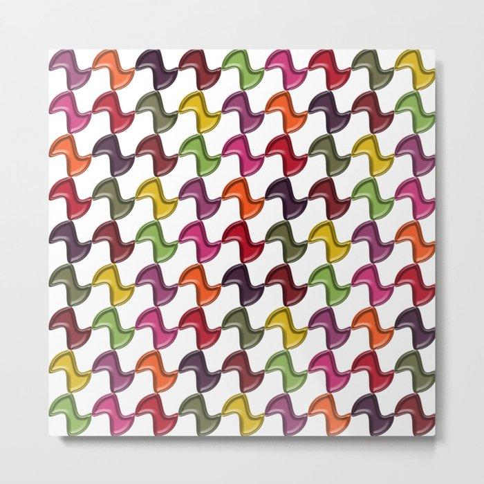 Pattern #45 Metal Print